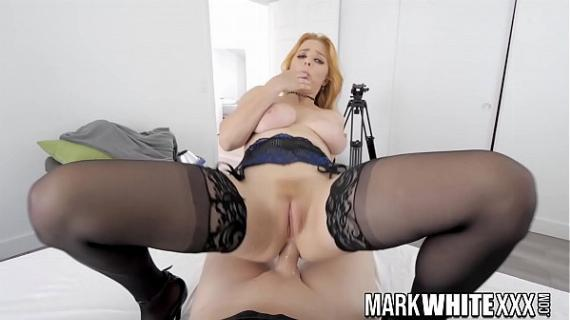 Do you know Penny Pax? This Busty Redhead loves DP with Cock and Toy, BTS